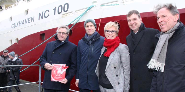 New Vessels Named for Icelandic German Partnership