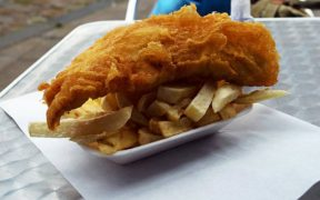 UK'S BEST FISH AND CHIP