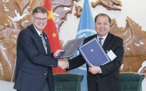 FAO AND CHINA AGREE