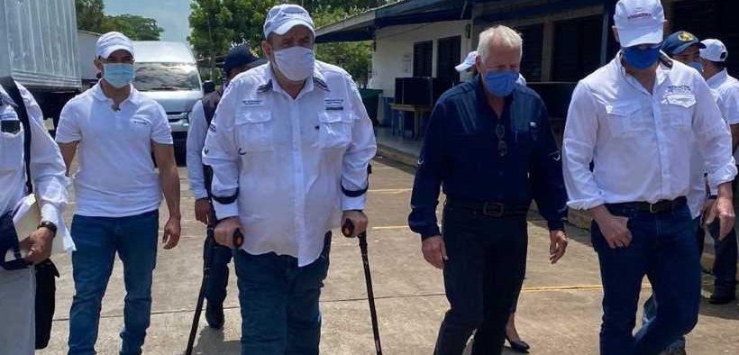PRESIDENT OF GUATEMALA VISITS 2