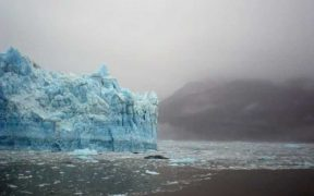 MELTING ANTARCTIC ICE SHEET