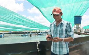SHRIMP FARMERS UNLOCK GROWTH