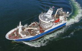 New Russian trawler begins sea trials