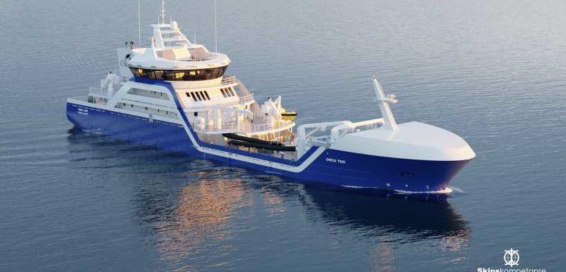 LARSNES ORDERS HULL-INTEGRATED SEAWATER COOLERS