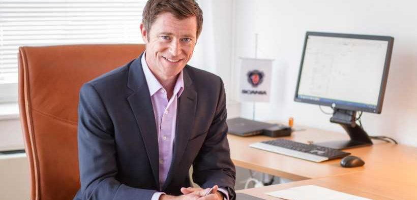 NEW MANAGING DIRECTOR OF SCANIA