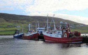 LERWICK FISH LANDINGS IMPACTED