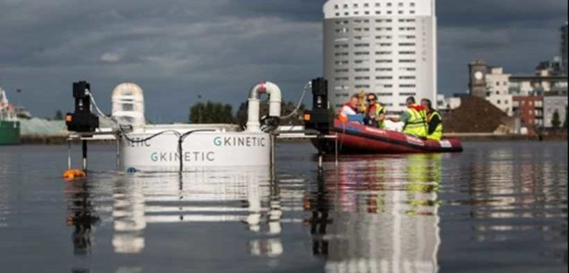GKINETIC TO HELP TACKLE CLEAN ENERGY