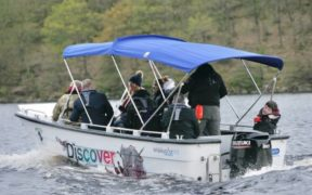 Ladybower Fisheries launches brand new wheelchair accessible boat