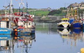 IRELAND'S FISHERIES MINISTER