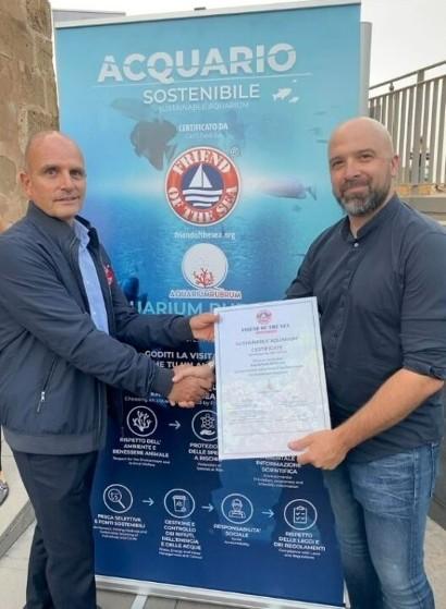 Aquarium Rubrum to be Certified by Friend of the Sea